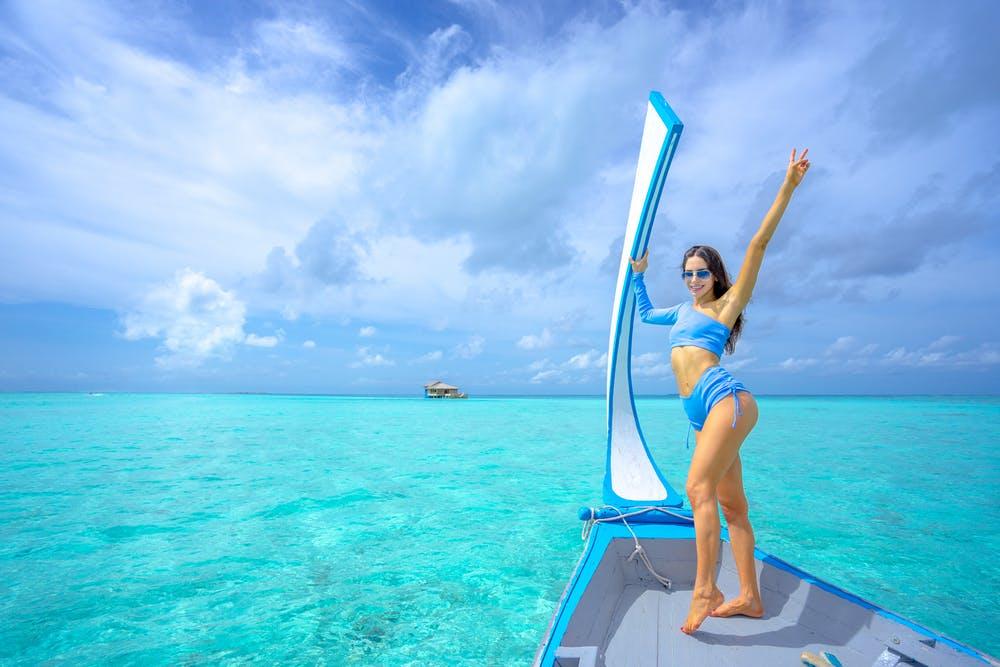 The High Waisted Thong Bikini Trend 2021