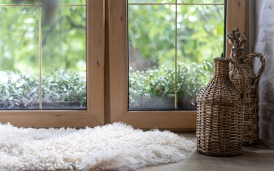 How You Can Improve The Appearance Of The Rental That You Live In With A Large Sheepskin Rug At The Centre